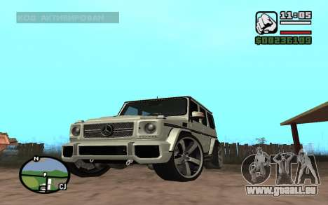 Mercedes-Benz G65 AMG für GTA San Andreas linke Ansicht