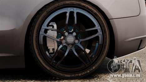 Audi S5 EmreAKIN Edition pour GTA 4 Vue arrière