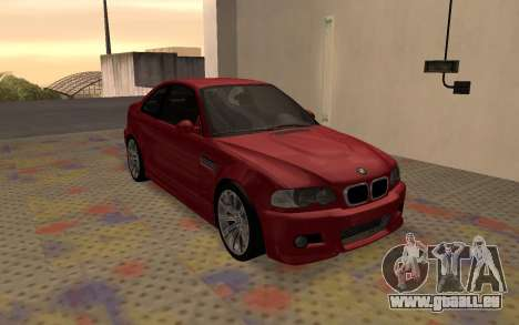 BMW M3 E46 2005 Body Damage für GTA San Andreas linke Ansicht