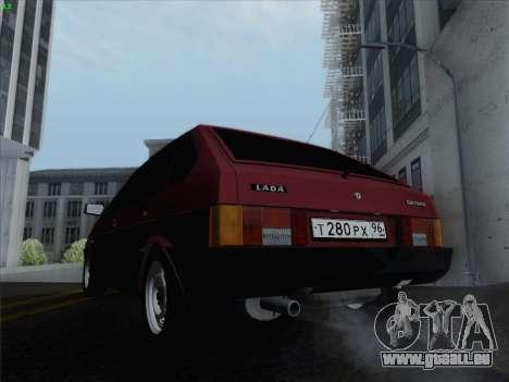 VAZ 21093i für GTA San Andreas Seitenansicht