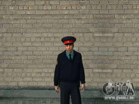 Le commandant de bord du ministère russe de l'in pour GTA San Andreas