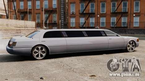 Limousine sur les lecteurs de 22 pouces pour GTA 4 est une gauche