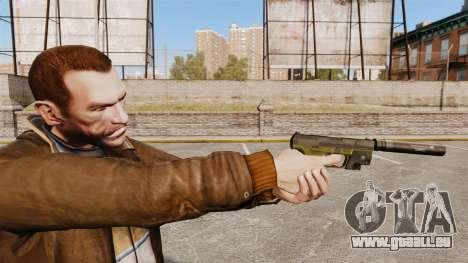 Walther P99 pistolet semi-automatique v3 pour GTA 4