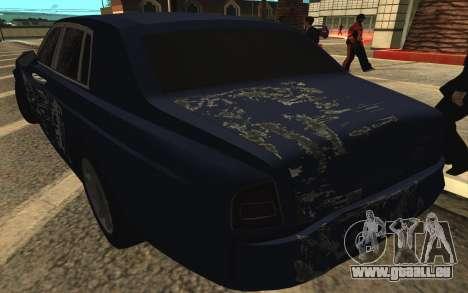 Rolls-Royce Phantom für GTA San Andreas Räder