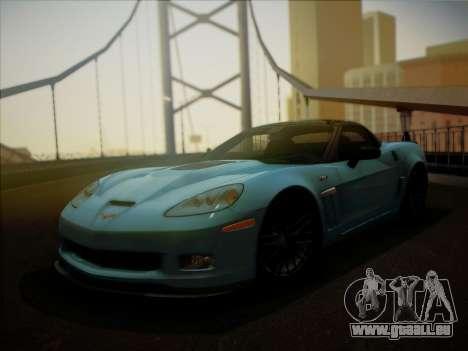 Chevrolet Corvette ZR1 2010 pour GTA San Andreas