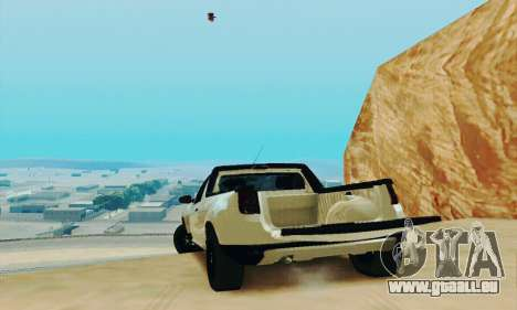 Dacia Duster Pick-up für GTA San Andreas Rückansicht