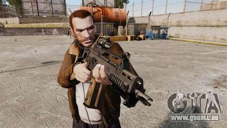 HK G36c für GTA 4 dritte Screenshot