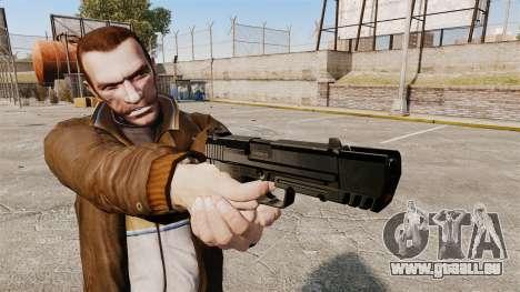 Chargement automatique pistolet USP H & K v1 pour GTA 4 troisième écran