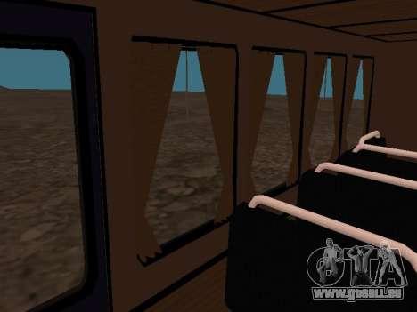 GAZ 66 ansehen für GTA San Andreas Innen