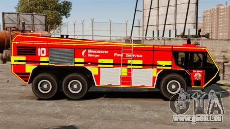 Camion Hydramax AERV v2.4-EX Manchester für GTA 4 hinten links Ansicht