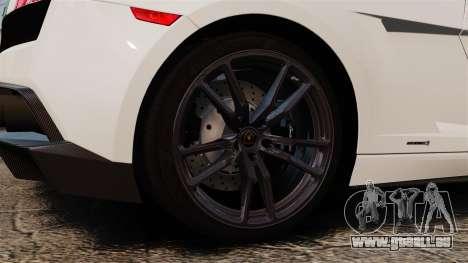 Lamborghini Gallardo LP570-4 Superleggera 2011 pour GTA 4 Vue arrière