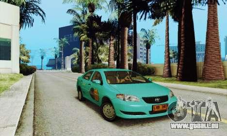 Toyota Corolla City Mastercab pour GTA San Andreas