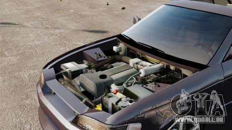 Toyota Mark II 1990 v1 für GTA 4 Rückansicht
