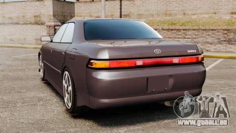 Toyota Mark II 1990 v1 für GTA 4 hinten links Ansicht