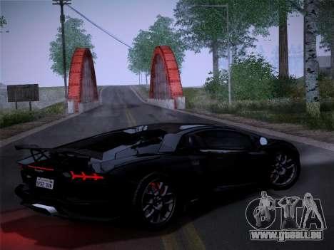 Lamborghini Aventador LP760-2 pour GTA San Andreas sur la vue arrière gauche