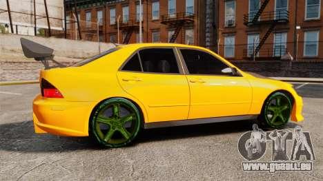 Lexus IS 300 pour GTA 4 est une gauche