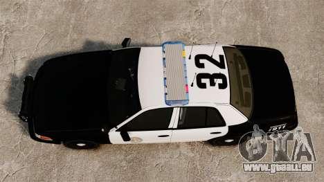 Ford Crown Victoria Police GTA V Textures ELS pour GTA 4 est un droit