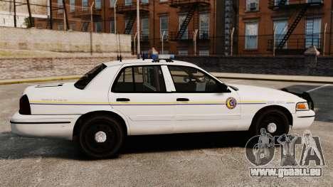 Ford Crown Victoria Police GTA V Textures ELS pour GTA 4 est une gauche