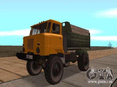 Camion gaz-66 pour GTA San Andreas