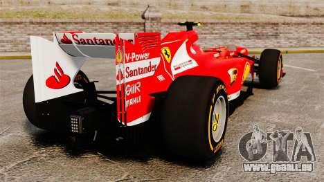 Ferrari F138 2013 v2 für GTA 4 hinten links Ansicht
