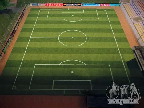 Terrain de soccer pour GTA San Andreas cinquième écran