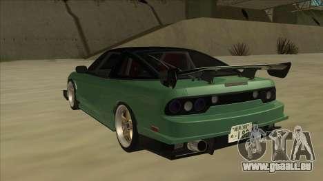 Nissan 180SX Uras GT pour GTA San Andreas vue arrière