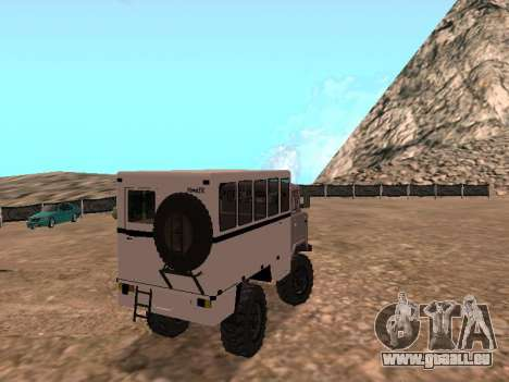 Regardez le GAZ 66 pour GTA San Andreas vue de droite