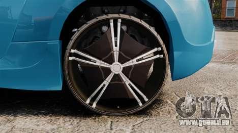 Nissan 370Z Tuning pour GTA 4 Vue arrière
