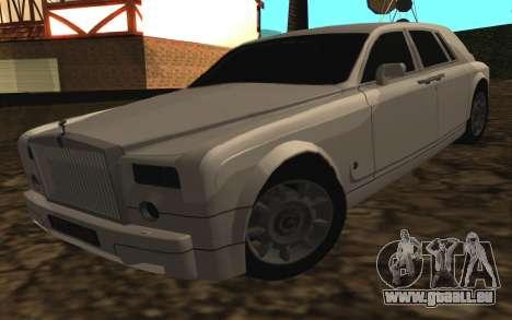 Rolls-Royce Phantom v2.0 pour GTA San Andreas