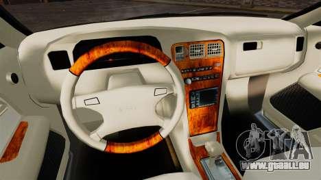 Toyota Mark II 1990 v1 pour GTA 4 est une vue de l'intérieur