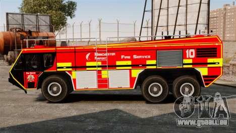 Camion Hydramax AERV v2.4-EX Manchester für GTA 4 linke Ansicht