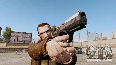 Beretta PX4 pour GTA 4 secondes d'écran