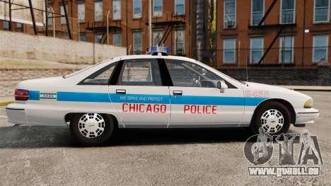 Chevrolet Caprice 1991 [ELS] v1 pour GTA 4 est une gauche