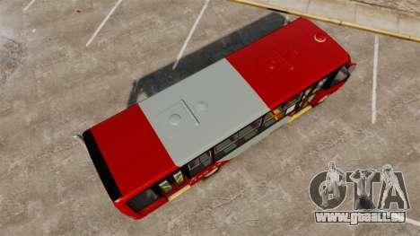 Mercedes-Benz Neobus Thunder LO-915 pour GTA 4 Vue arrière