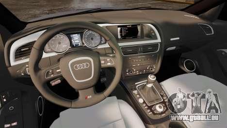 Audi S5 EmreAKIN Edition pour GTA 4 est une vue de l'intérieur
