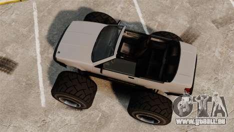 Futo Monster Truck pour GTA 4 est un droit