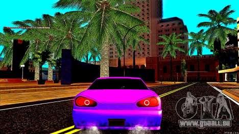 Elegy Drift Silvia pour GTA San Andreas sur la vue arrière gauche