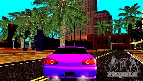 Elegy Drift Silvia für GTA San Andreas zurück linke Ansicht