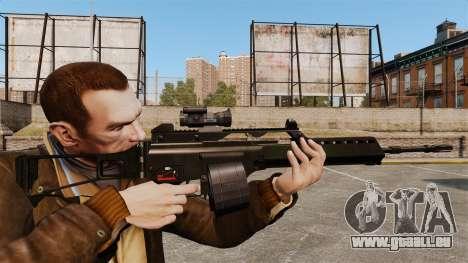 Fusil d'assaut H & K MG36 v3 pour GTA 4