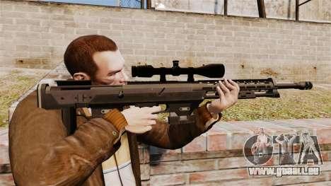 Le DSR-1 sniper rifle pour GTA 4