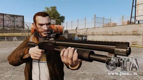 Fusil de chasse tactique v1 pour GTA 4 troisième écran