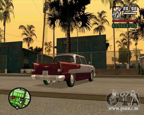 Oceanic HD für GTA San Andreas zurück linke Ansicht