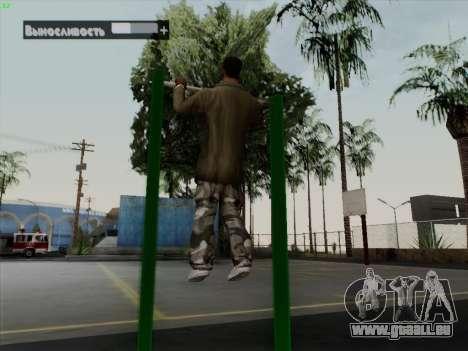 Barre fixe pour GTA San Andreas cinquième écran