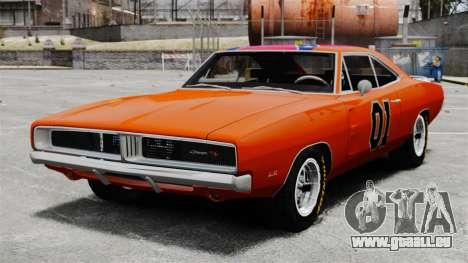 Dodge Charger 1969 General Lee v2 für GTA 4