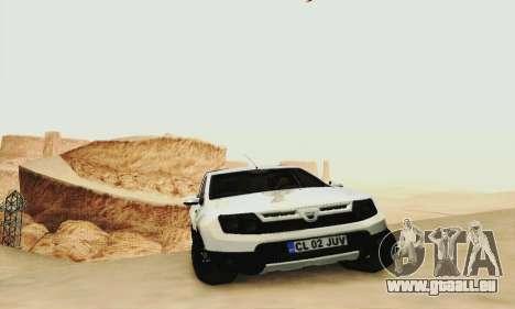 Dacia Duster Pick-up für GTA San Andreas zurück linke Ansicht