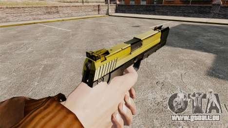 Ladewagen Pistole USP H & K v4 für GTA 4 Sekunden Bildschirm