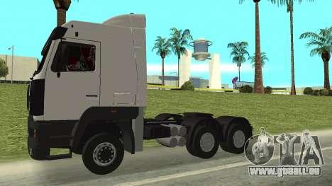 MAZ 5440 für GTA San Andreas rechten Ansicht