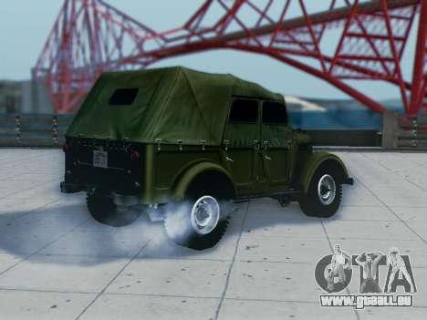 UAZ-69 A pour GTA San Andreas vue de droite