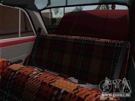 VAZ 2101 pour GTA San Andreas vue de dessus
