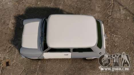 Mini Cooper S 1968 pour GTA 4 est un droit